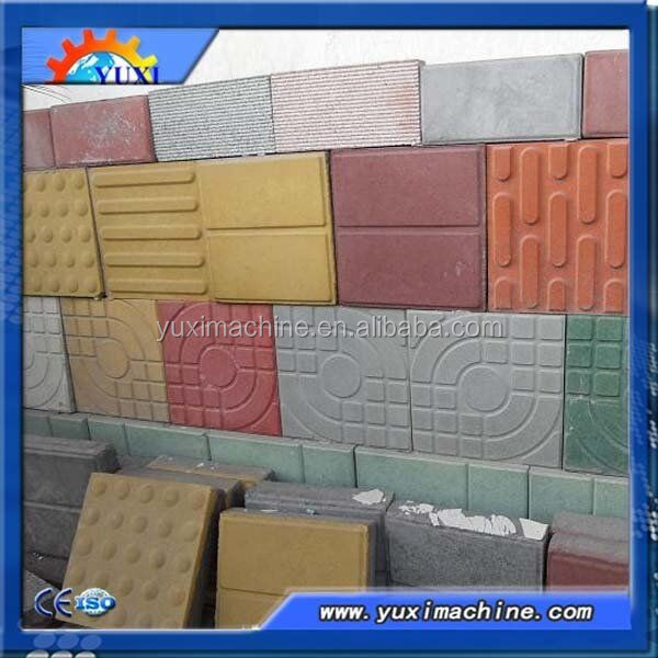 Automatic Type Cr Concrete Moulds Cement Tile Manufacturing Machine - Place and press floor tiles
