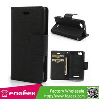 High Fashion Goospery Fancy Diary Leather Case for Sony Xperia M C1904 C1905 C2004 C2005