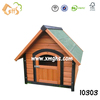Small dog kennel wood material for outdoor