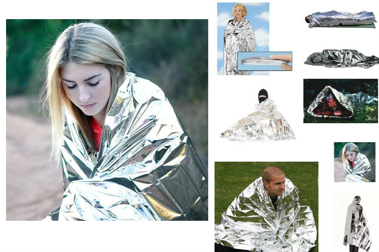 emergency supplies wholesale home emergency kit thermal reflective blankets