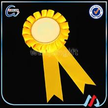 Award Ribbon Rosette,Wholesale Custom Award Ribbons,festival award rosette ribbon