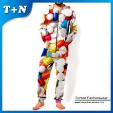 cartoon jumpsuit, long sleeve denim jumpsuit