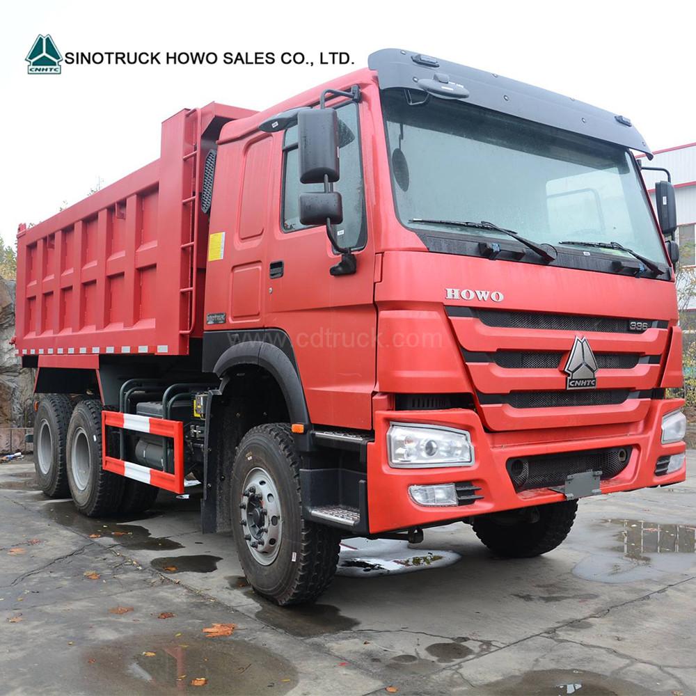 Professional 20 - 30 Ton Dump Truck SINOTRUK HOWO A7 6x4