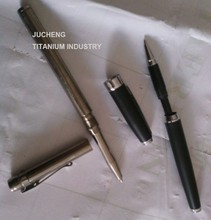 Office & School Supplies Pens Promotional gifts Ballpoint Pens titanium executive pen with gift box