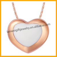 New Products 2015 Charming Jewelry Professional Design Heart Pendant