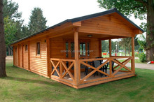 Low cost prefabricated wooden houses with best price for sale