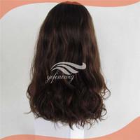 European Curly Silk Top Human Hair Kosher Jewish