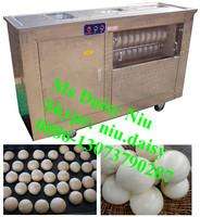 commercial pita dough making machine/small dough balls maker machine/round dough rolling machine