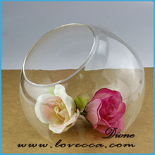 Good price for china glass vases / beautiful glass vase / ball shaped glass flower vase