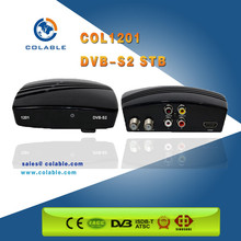 Factory price dvb-s2 set top box MPEG-4 fta hd satellite receiver for Thailand
