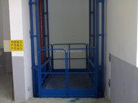 800kg, 3.5m height indoor goods lift, hydraulic goods elevator