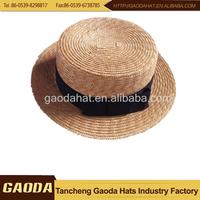 new trendy cheap straw hat/farmers wheat starw hats
