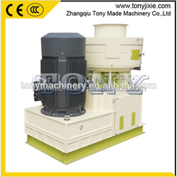 (A) Tony Brand TYJ550-II Vertical Ring Die Wood Pellet Machine/Pellet Mill with Auto Lubrication System with capacity 1.5-2t/h