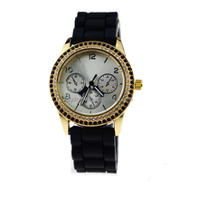 Alibaba china watch manufacturer export two row diamond watch