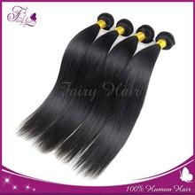 Fashion Long Sexy hair 6A Grade Virgin hair Brazilian Natural Black Silky Straight wave 100% Virgin Brazilian Remy Hair