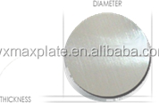 alibaba induction aluminum circles/disk used fo rpancke pans