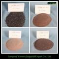 Alta pureza marrón corindón para de chorro de arena