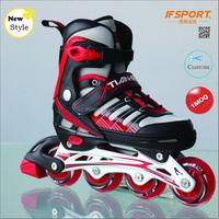 Kids Adjustable Inline Skates Rollerblades With Brake Aluminium Chassis
