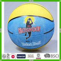 cheap rubber made basketball size 7