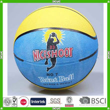 cheap rubber made basketball size 7