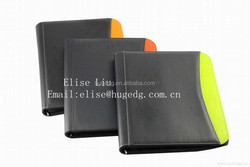 high-grade A4 size leather manager portfolio/multifunctional file folder for business office supplies