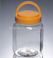 venta al por mayor 1000g claro frasco de plástico pet