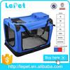 Pet Polyester Transportbox with Metal Bracing Pet Soft Crate