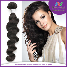 Cheap remy human hair weaving mumbai, human newness hair factory