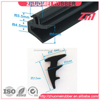 curtain wall glass rubber constructional seal gasket