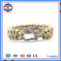 Alibaba com sell cheap christmas Charming paracord bracelet survival bracelet paracord