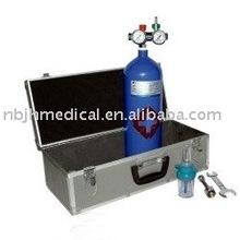 Kit de oxígeno médico portátil/cilindro de oxígeno tipo minicaja