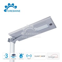 Complete Set, Battery, Controller, Solar Panel, All in One Street Light Outdoor Solar Lighting