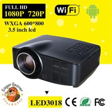 Workshop led projector newest trade assurance supply 1.6ghz mini led projector 1000w outdoor led projector light