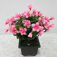 37 CM Tall Eco-Friendly Artificial Flowers In Decorative Pots Artificial Branch Wholesale