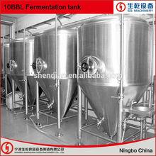 10BBL fermentador para equipo de fabricación de cerveza