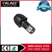 White Power fog light for toyota avanza Non-polarity led car work lights angel eyes