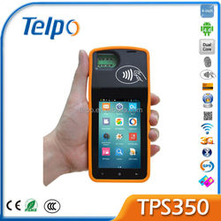 TELPO TPS350 fingerprint wireless pos terminal gprs