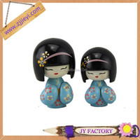 Christmas gifts for business clients resin craft porcelain japanese wooden doll
