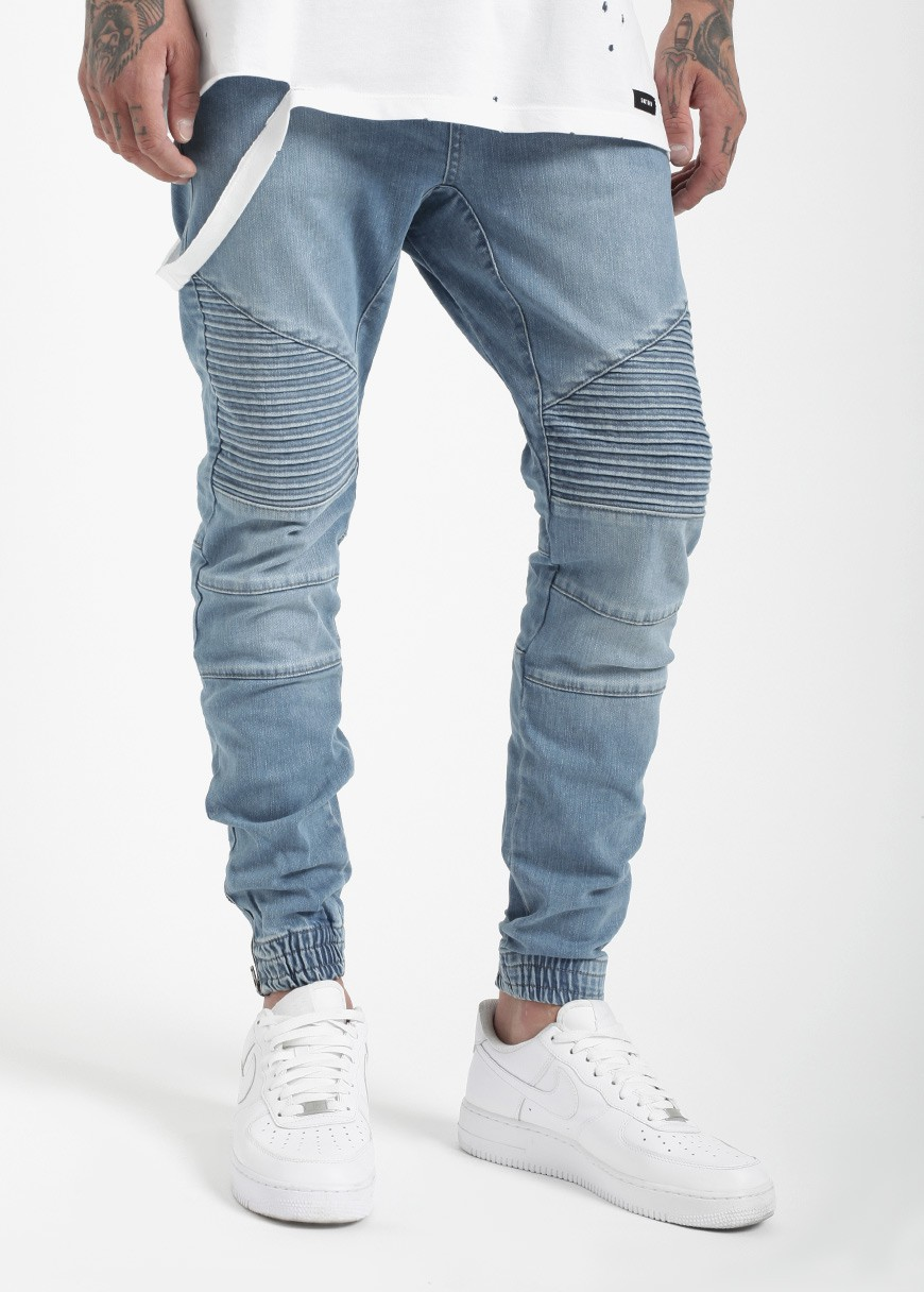 Dark denim skinny jeans men