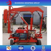 guardrail hydraulic pile driver