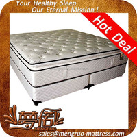 best price pillow top single size hotel bed mattress