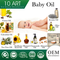 Mineral Oil Free Great for infant massage Baby Organic Oil