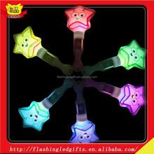 Stars shining high light led glow stick birthday party supplies princess magic fairy wand customized led glow stick