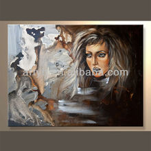 Newest Handmade Impression People Oil Painting For Decor