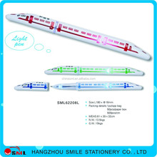 School Supplies Wholesale promotional pen refill with led light