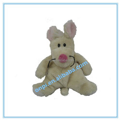 Plush cute mouse toy