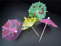 2014 HOT SELLING cocktail umbrellas parasols drink umbrellas With Different Sizes