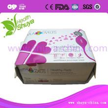 OEM Chitin Fiber Sanitary Napkin ( 155mm, 240mm, 280mm)