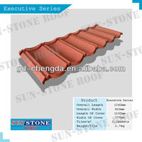 Stone Coated Steel Roofing Tile / Advanced materials in construction