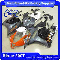 For CBR600RR 2011 2012 Motorcycle Fairing Orange And Grey FFKHD010